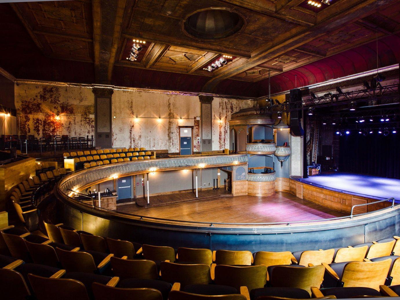 Trip Ideas indoor ceiling performing arts center auditorium theatre function hall interior design stage restaurant Bar several