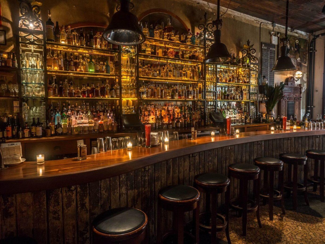 Food + Drink Romance indoor Bar building tavern restaurant table several