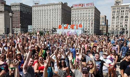 Trip Ideas person outdoor crowd protest people large group audience posing event gathered