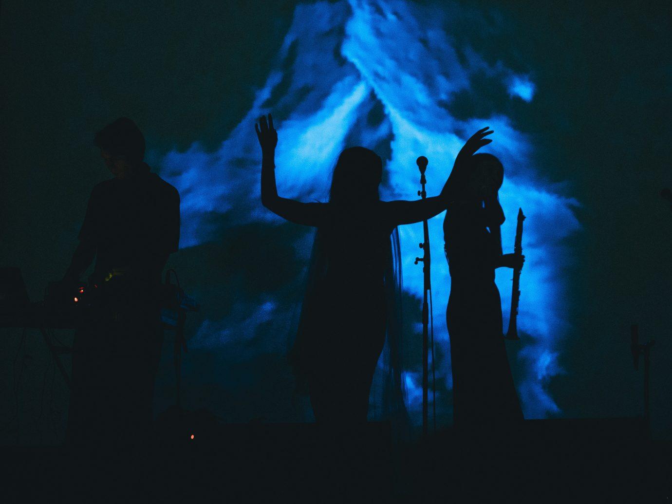 Arts + Culture dark blue darkness light screenshot silhouette computer wallpaper special effects