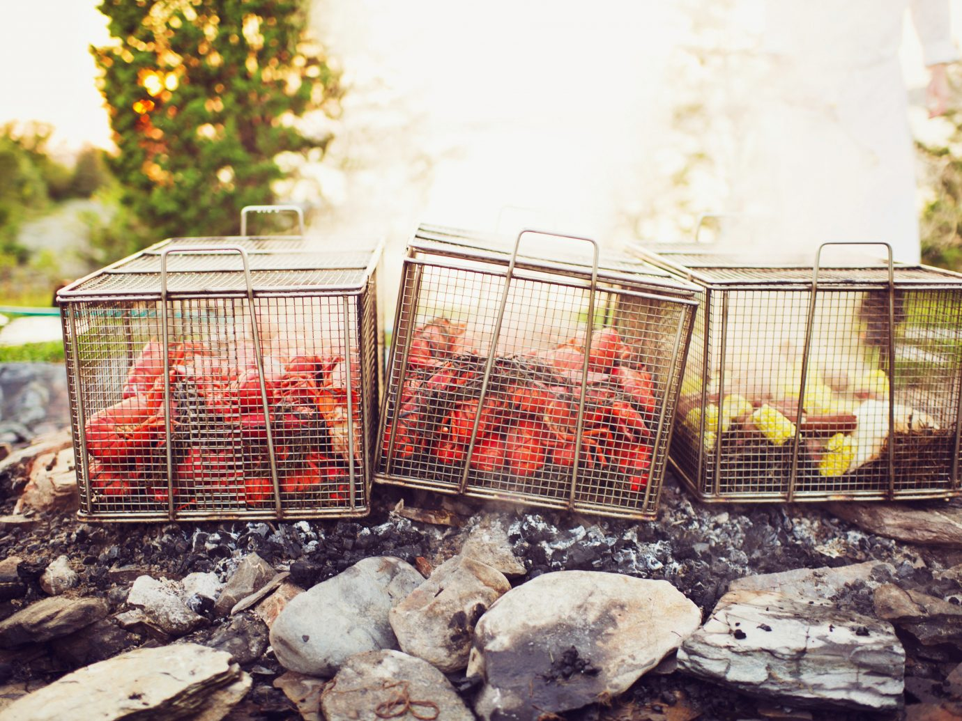 Lobster pots in Maine