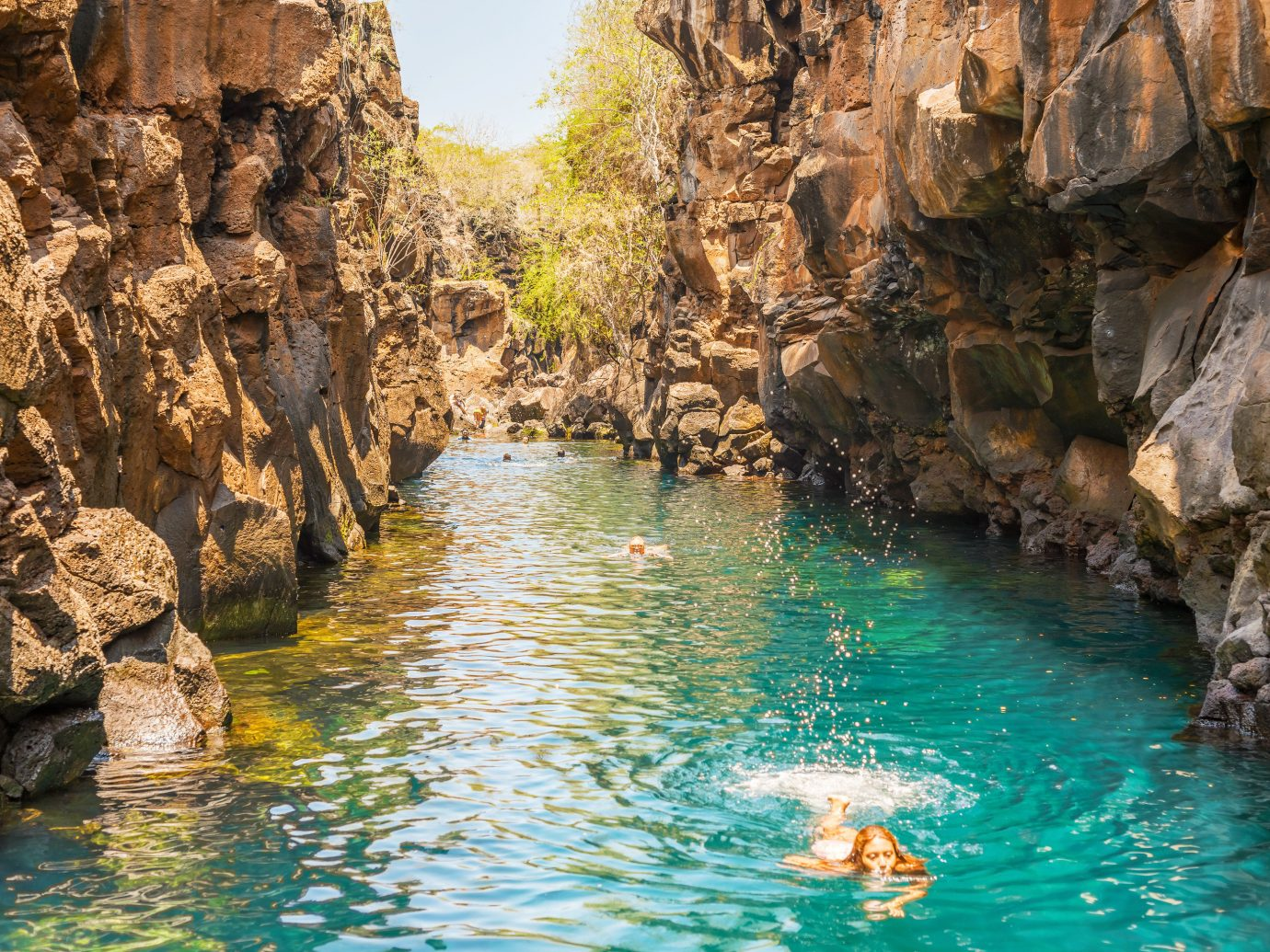 Lakes + Rivers Landmarks Trip Ideas water outdoor rock landform geographical feature Nature valley body of water River wadi canyon water feature formation terrain