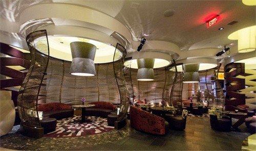 Food + Drink indoor building room retail Lobby interior design meal restaurant function hall several