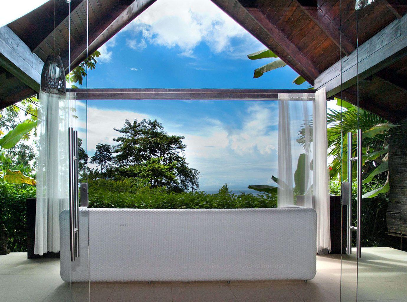 Beach view at Oxygen Jungle Villas
