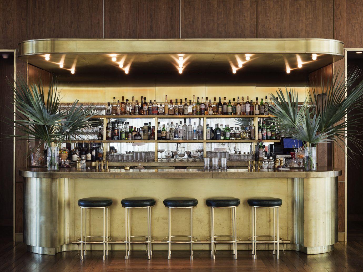 Hotels indoor floor Kitchen Bar restaurant interior design several
