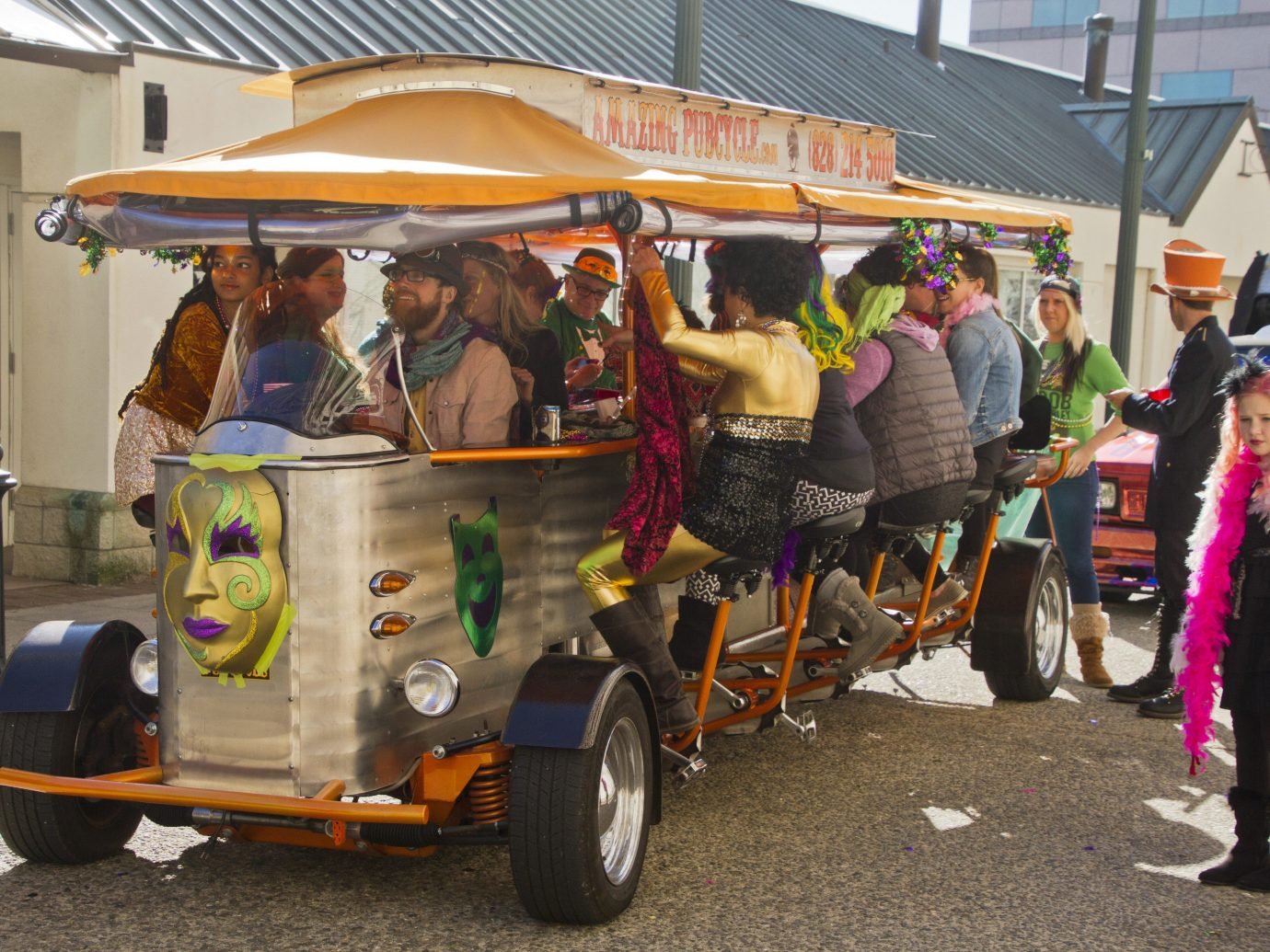 Trip Ideas outdoor transport vehicle vendor fair festival stall golfcart