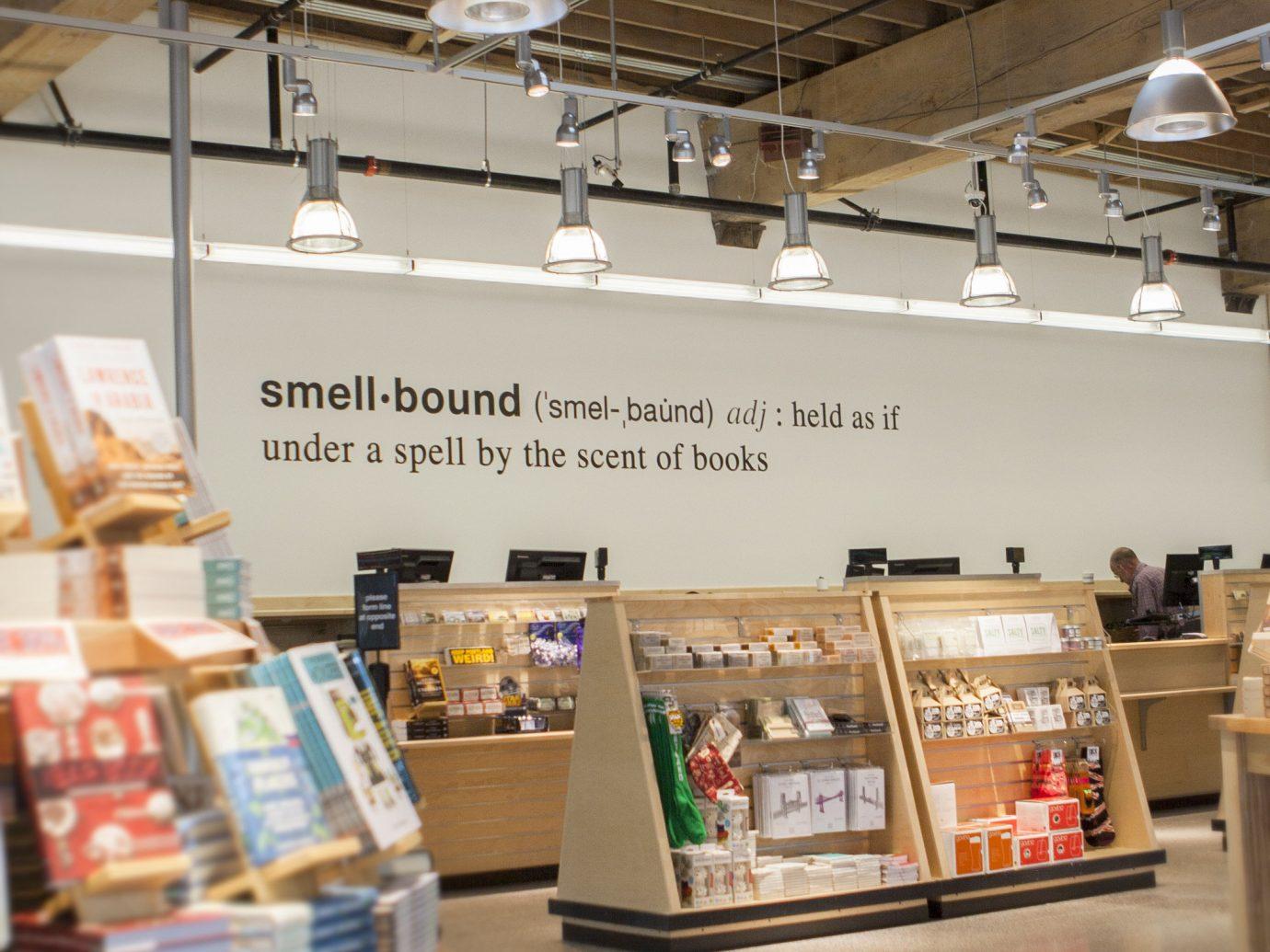 Offbeat indoor floor ceiling interior design Design retail tourist attraction library