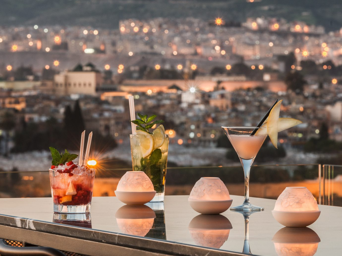 Balcony City Drink Resort Scenic views Trip Ideas cocktail morning food