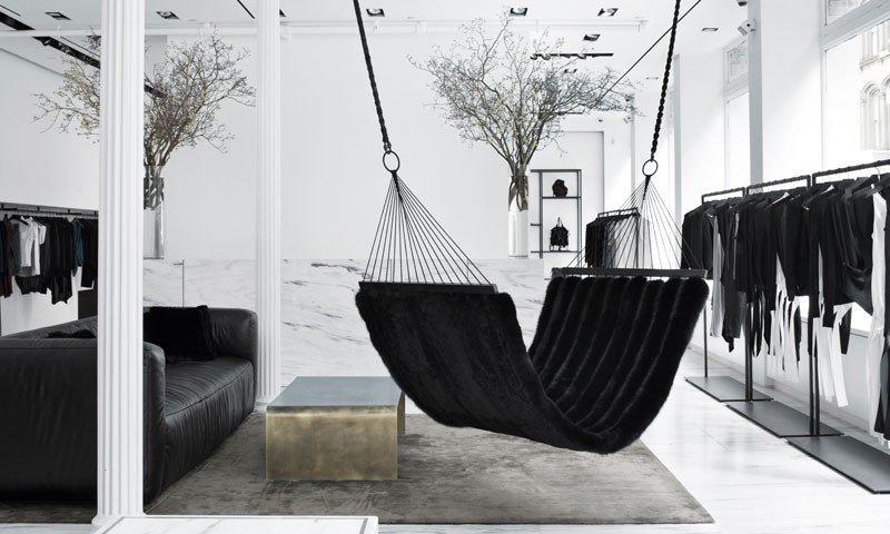 Style + Design white black and white indoor furniture room monochrome photography monochrome home interior design modern art Design living room
