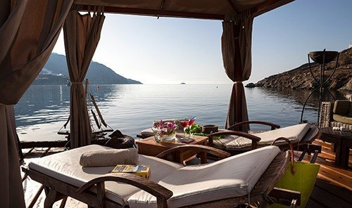 Hotels sky chair outdoor vacation yacht Boat vehicle Resort bay estate caribbean Sea furniture overlooking day