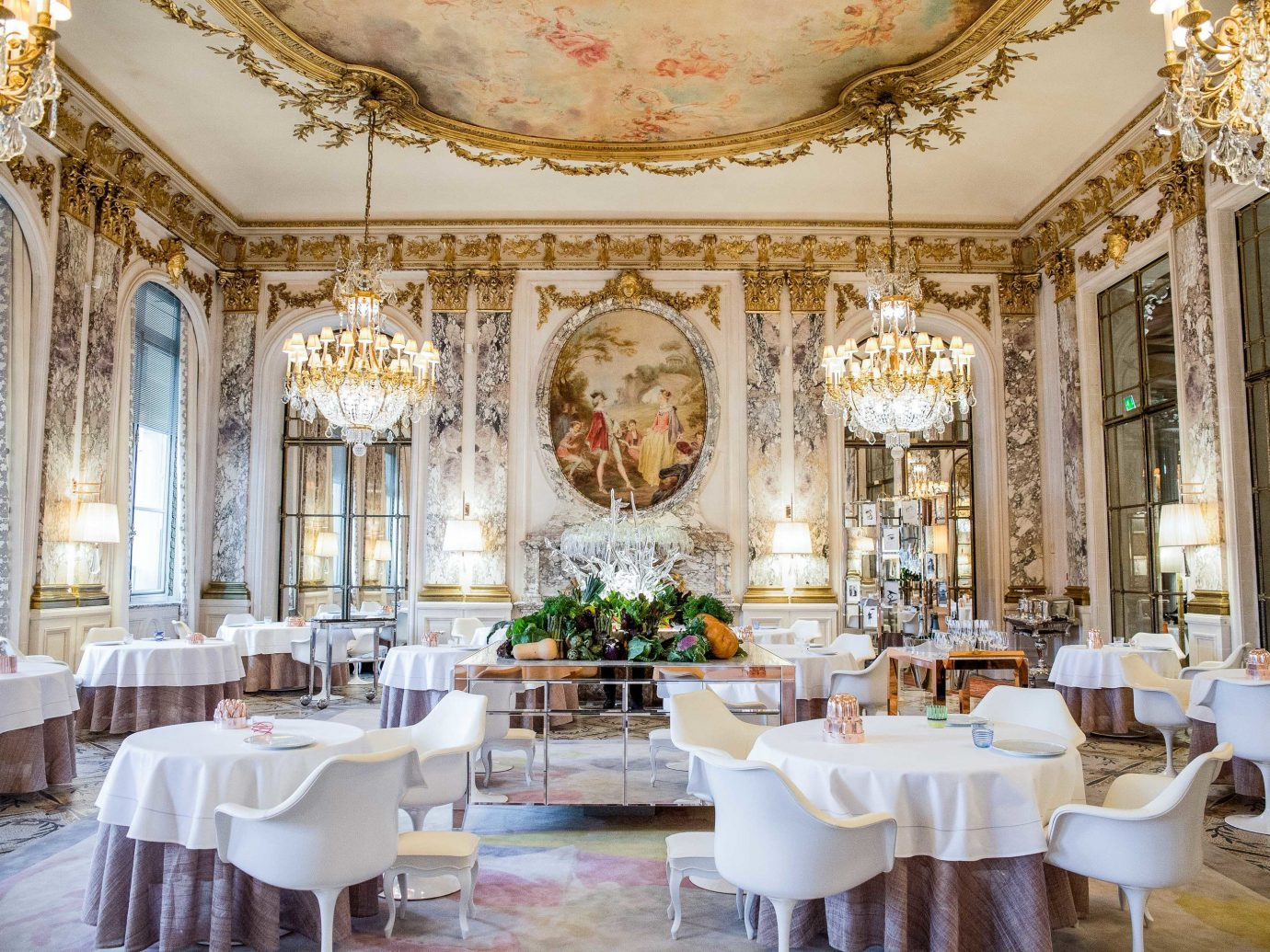 europe Trip Ideas indoor table window floor function hall room chair interior design restaurant ballroom ceiling dining room furniture decorated fancy area several