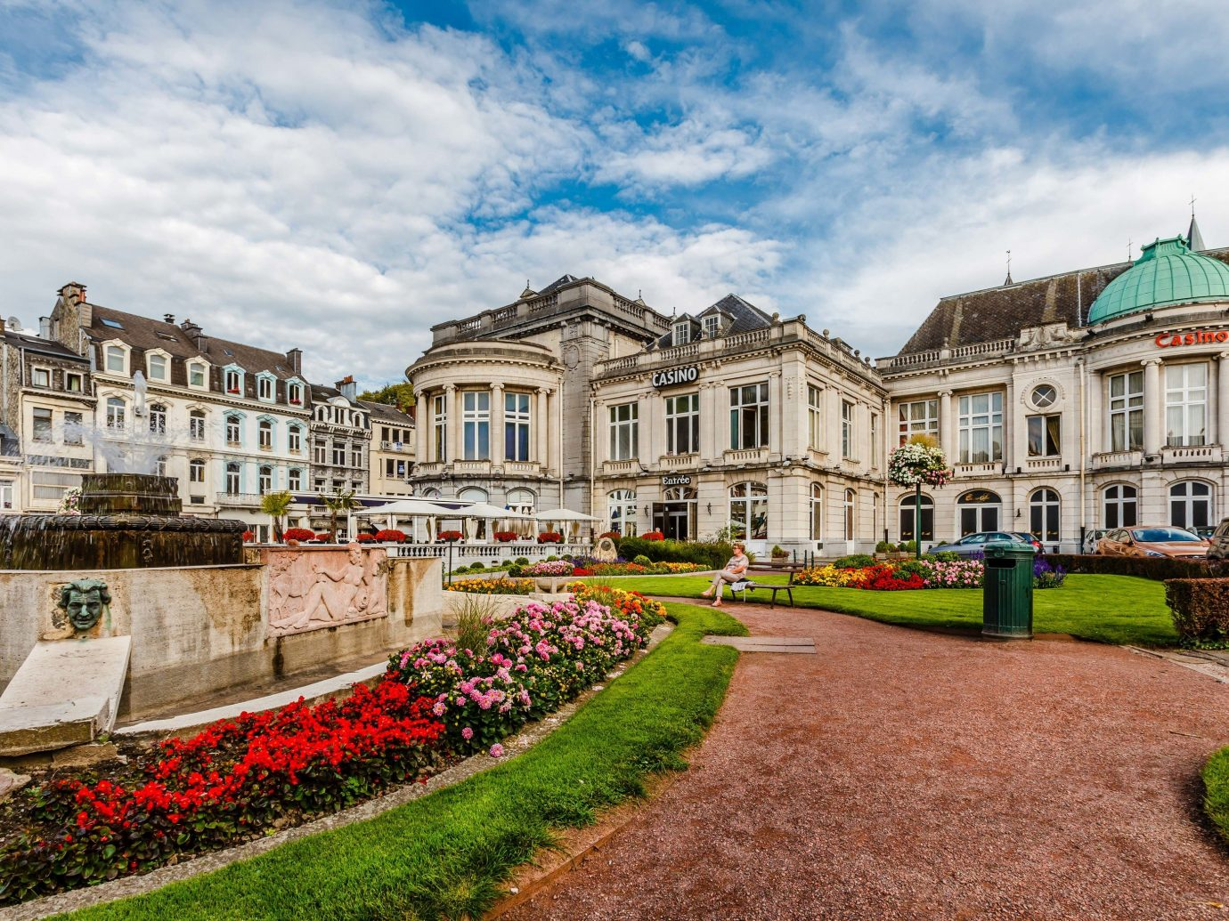 Health + Wellness Luxury Travel Trip Ideas grass sky outdoor landmark palace building estate stately home mansion château tree daytime City tourist attraction green house tourism facade real estate national trust for places of historic interest or natural beauty plaza town square old landscape stone