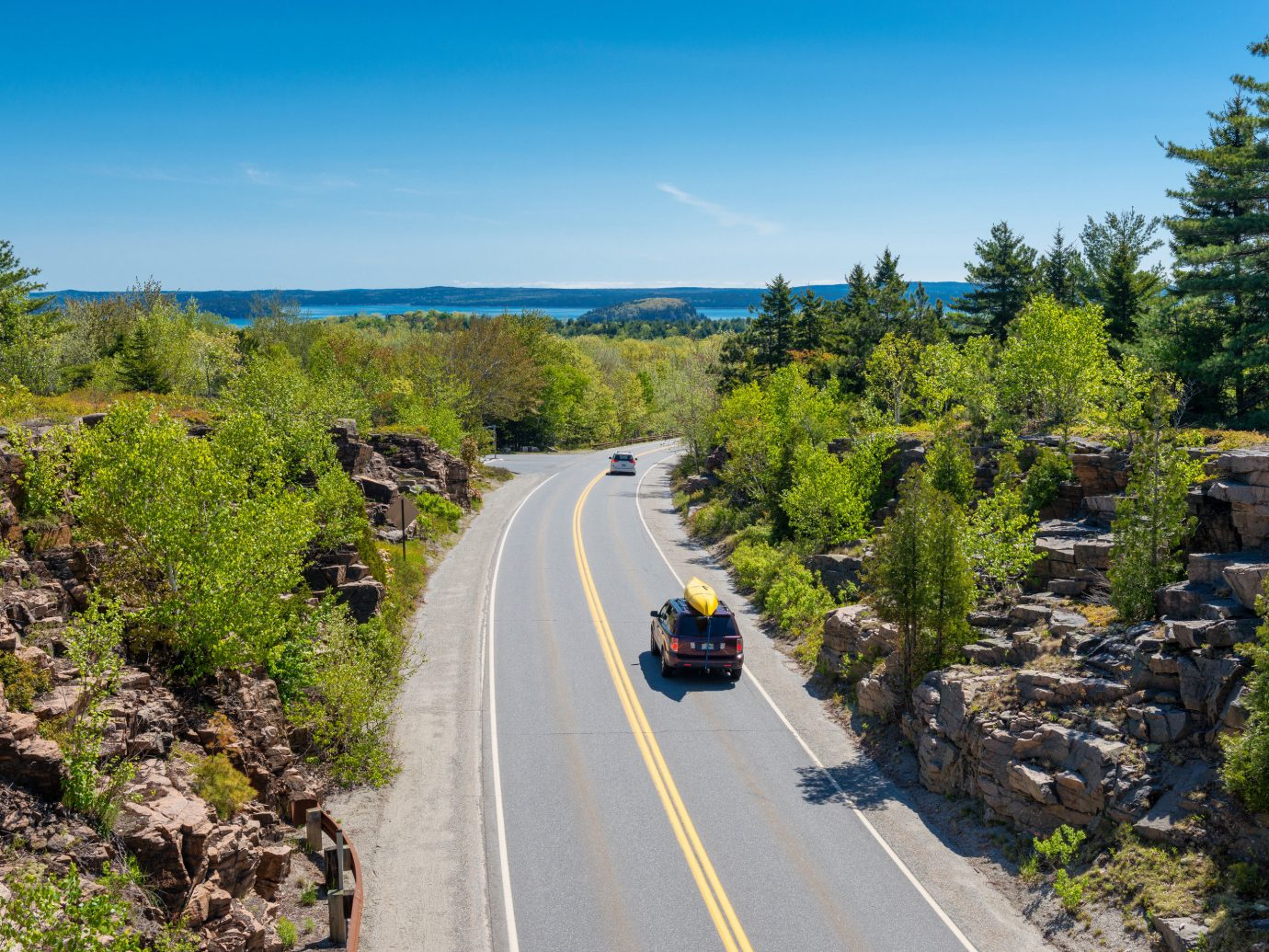 Family Travel National Parks Outdoors + Adventure Road Trips Trip Ideas tree outdoor sky way road scene highway mountain vacation infrastructure rural area landscape trail mountain pass traveling