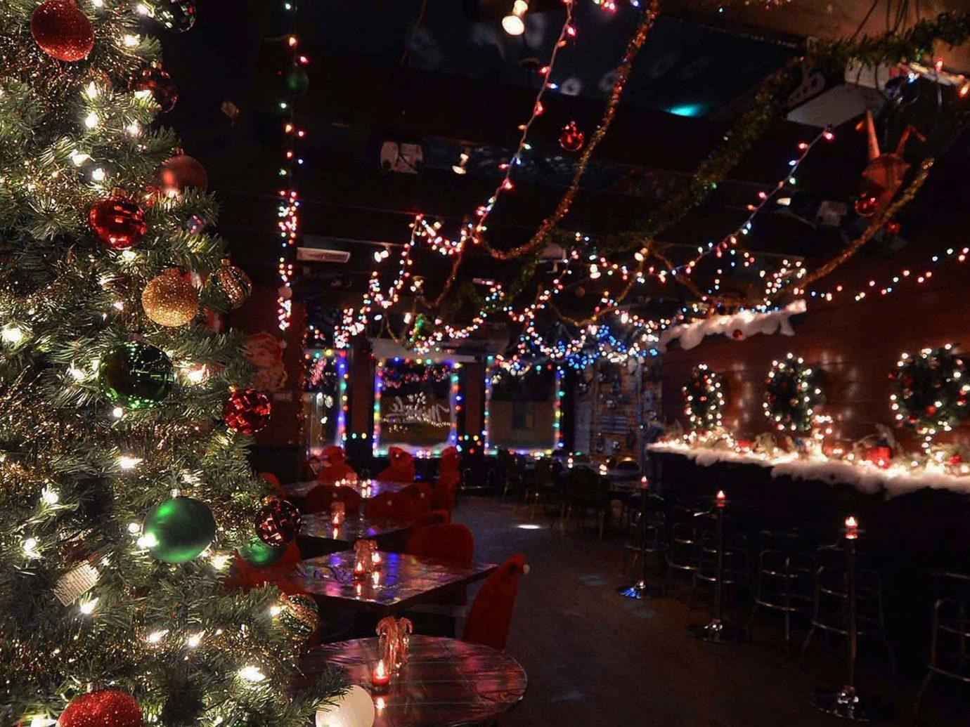 Food + Drink Christmas tree christmas decoration christmas lights Christmas tree light event holiday