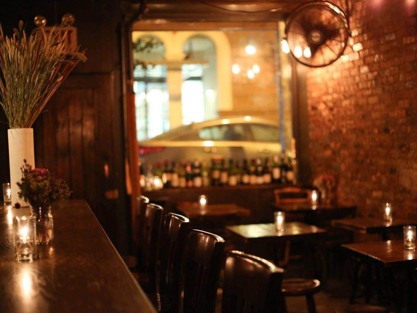 Food + Drink Romance table indoor restaurant window meal Bar lighting function hall dining room
