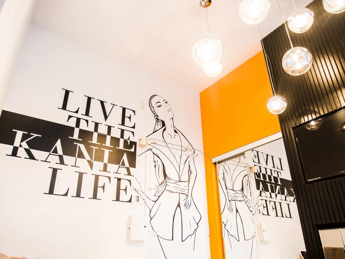 Style + Design indoor wall art restaurant Design interior design lighting brand