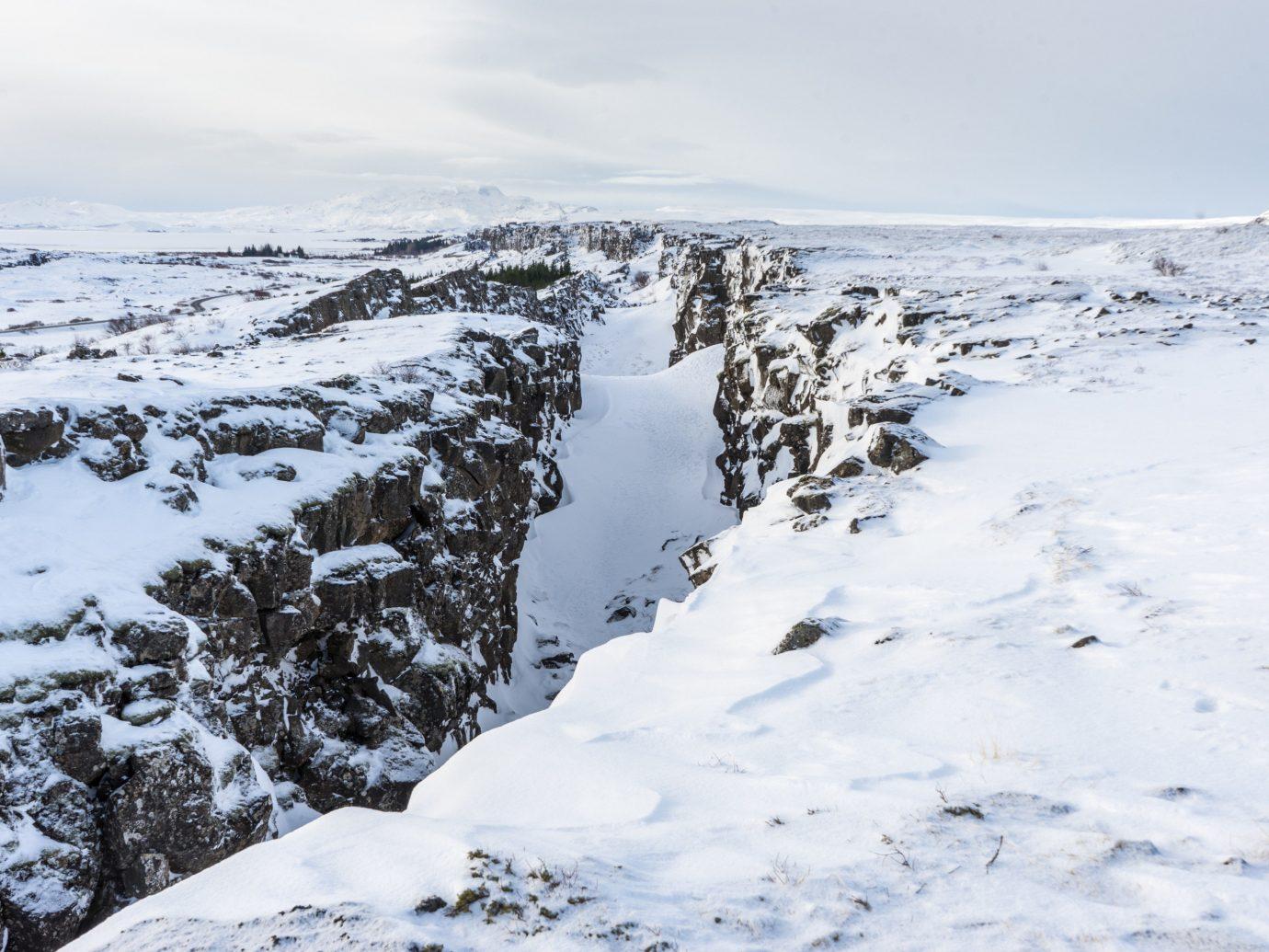 Iceland Travel Tips Trip Ideas snow outdoor sky Nature Winter mountainous landforms weather mountain geological phenomenon season freezing mountain range ice ridge tundra arctic ski touring ski mountaineering summit slope ski slope
