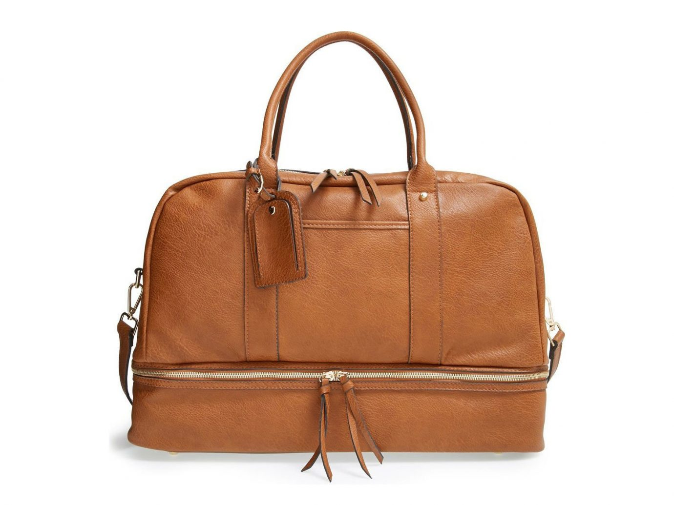 Packing Tips Style + Design Travel Shop bag brown leather handbag fashion accessory caramel color shoulder bag product baggage peach hand luggage