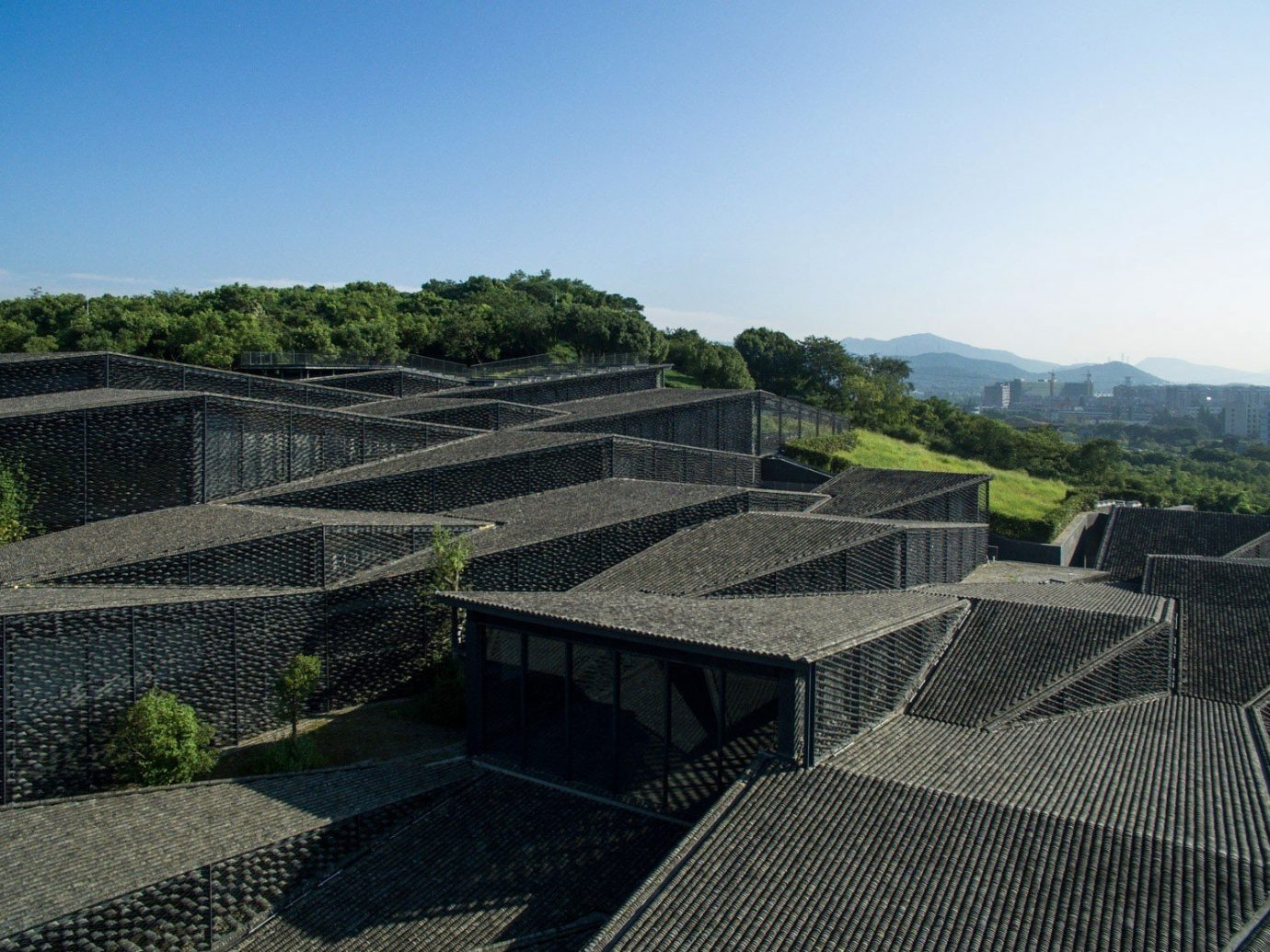 Trip Ideas sky outdoor structure wall Architecture roof aerial photography agriculture stadium outdoor structure reservoir amphitheatre day
