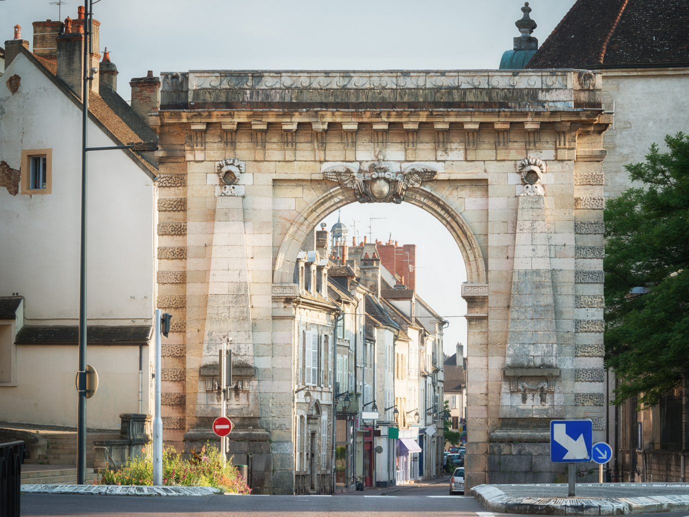 Trip Ideas building landmark arch Architecture facade classical architecture City window