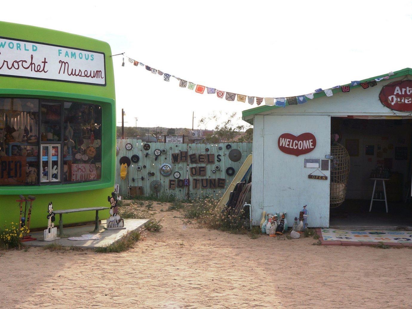 The World Famous Crochet Museum in the Mojave Desert