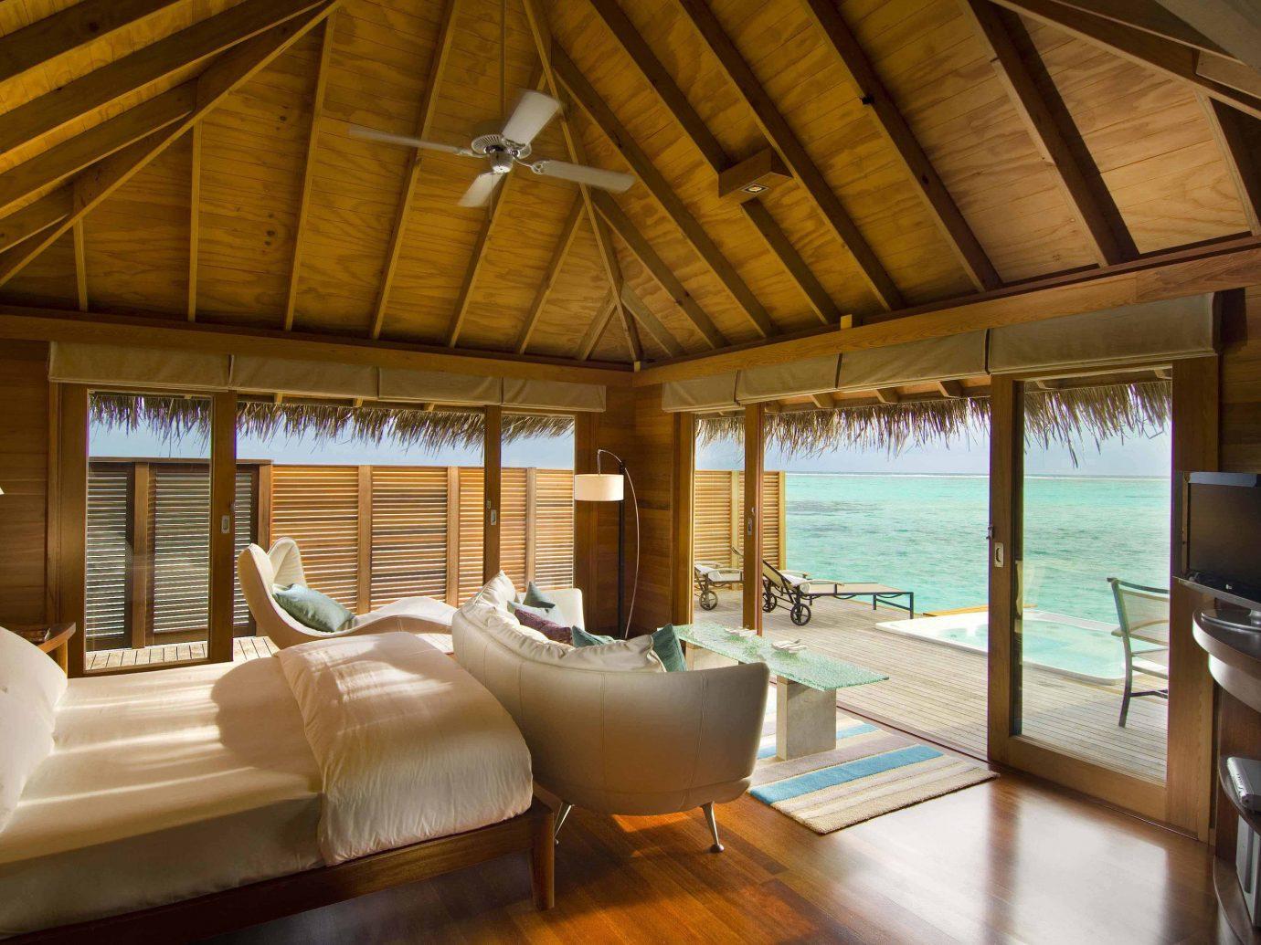 Bedroom at Conrad Maldives Rangali Island