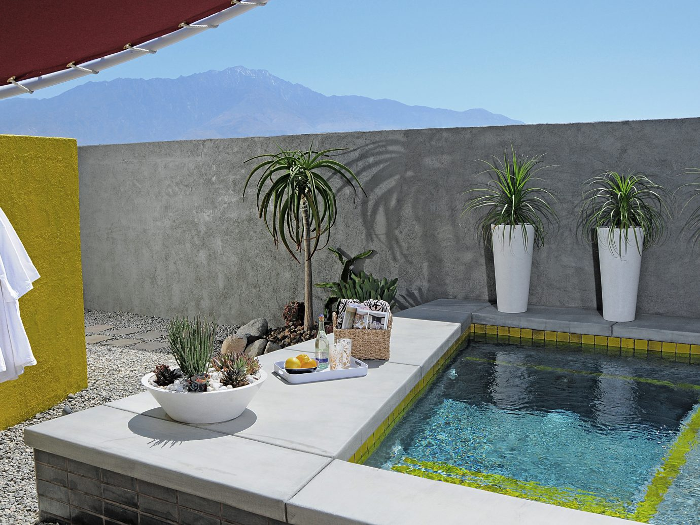 Hotels Lounge Luxury Modern Pool Style + Design Trip Ideas swimming pool property estate house Villa backyard home interior design real estate mansion cottage plant decorated