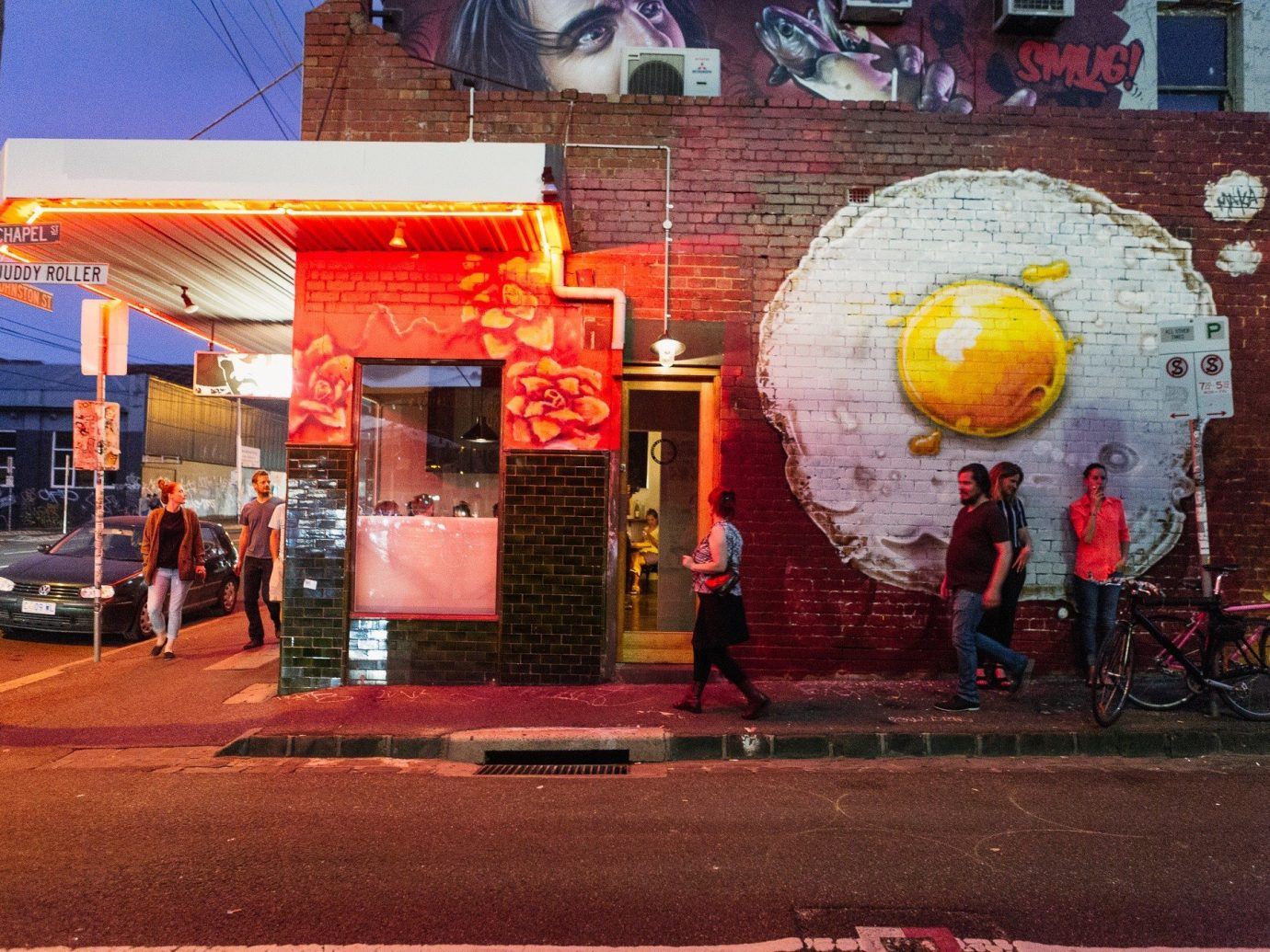 Day Trips Trip Ideas building outdoor color red road urban area street restaurant