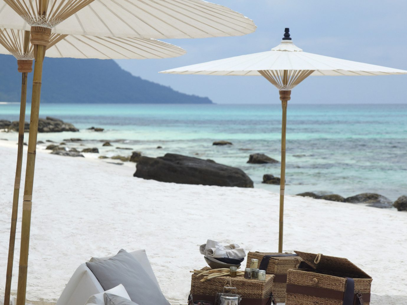 All-Inclusive Resorts Hotels sky outdoor Beach Sea Coast body of water Ocean shore vacation bay Resort wind sandy day