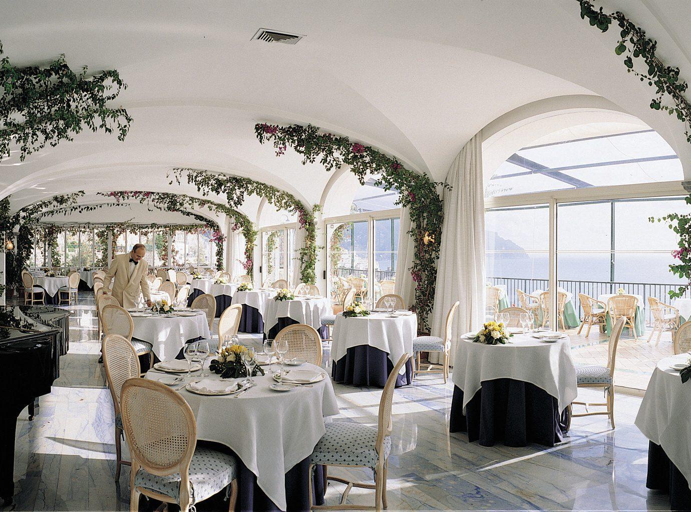 Restaurant at Hotel Santa Caterina, Amalfi