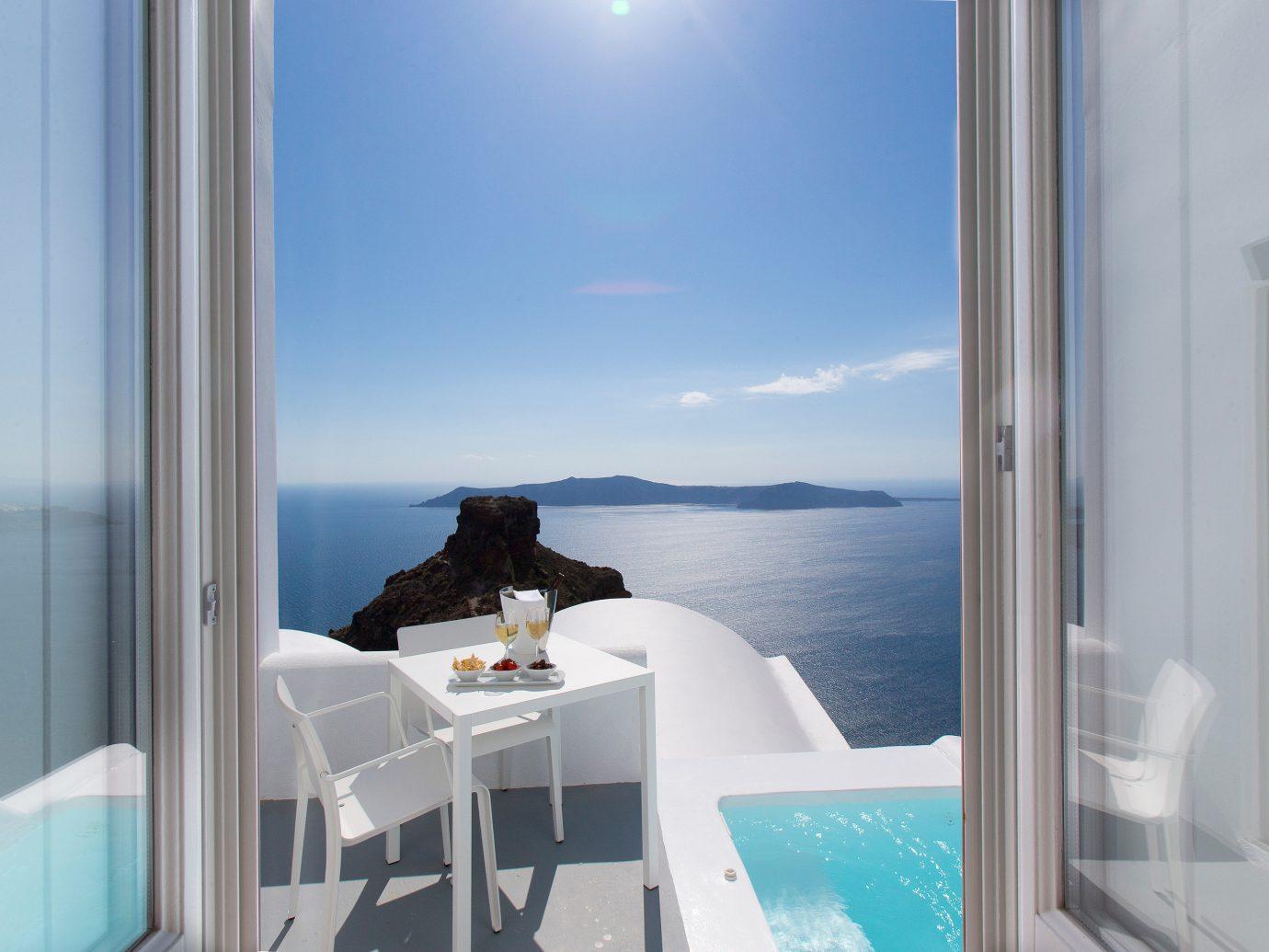 Hotels window blue room property house home swimming pool interior design condominium Design apartment yacht