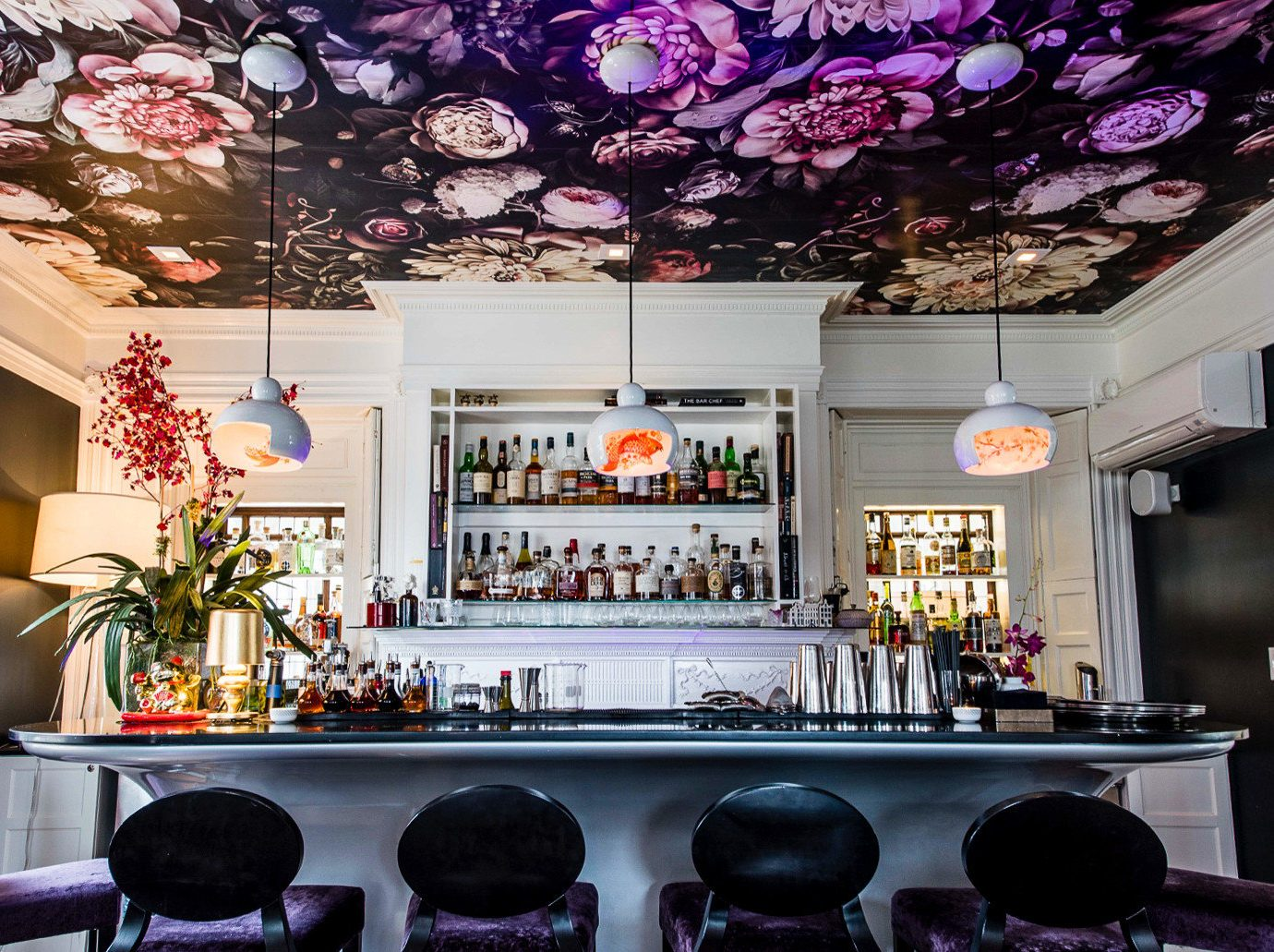 Trip Ideas indoor wall interior design function hall Bar restaurant stage decorated