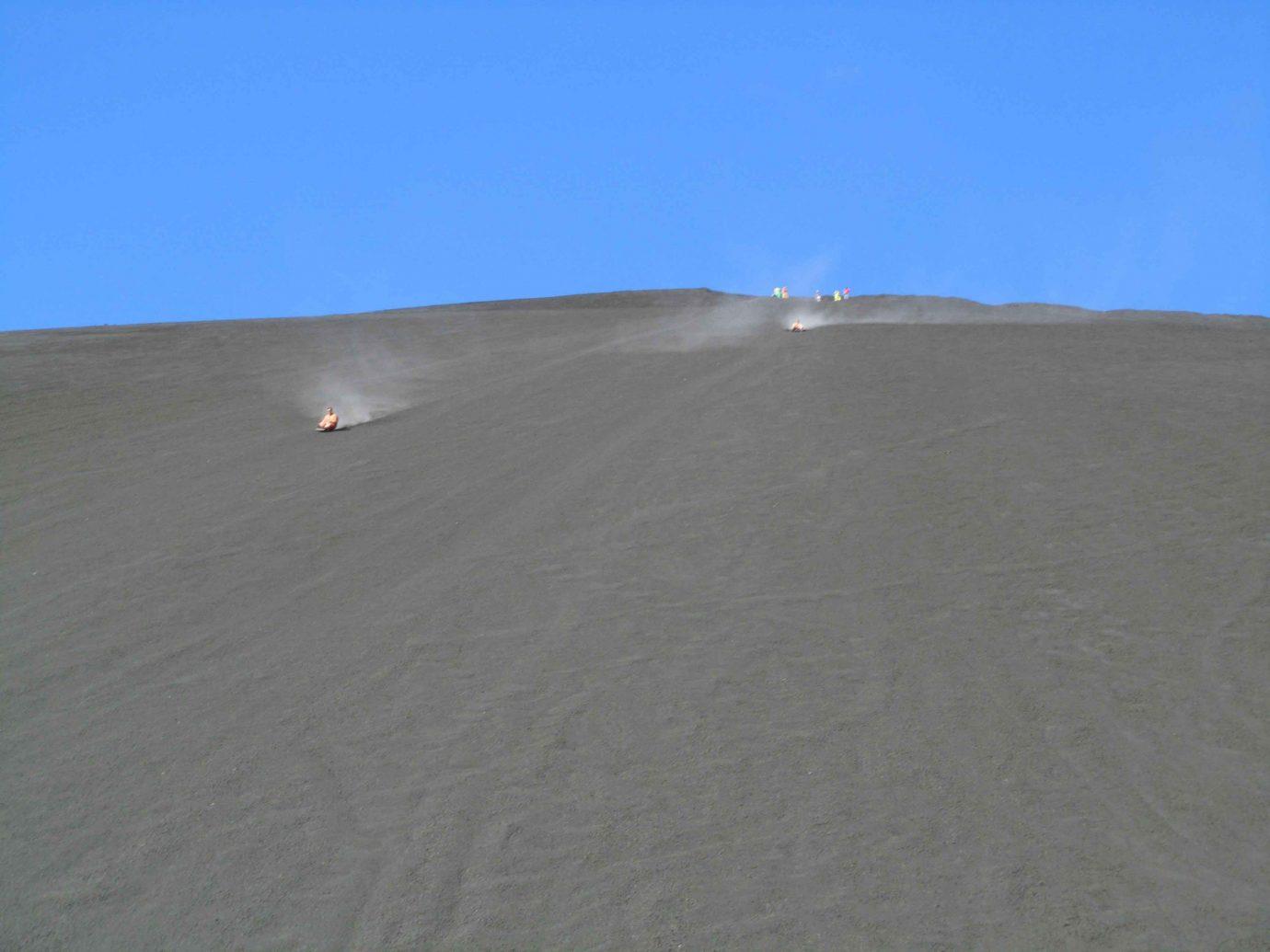 Offbeat sky outdoor habitat natural environment geographical feature landform dune Nature ecosystem aeolian landform sand plain material plateau sandy day