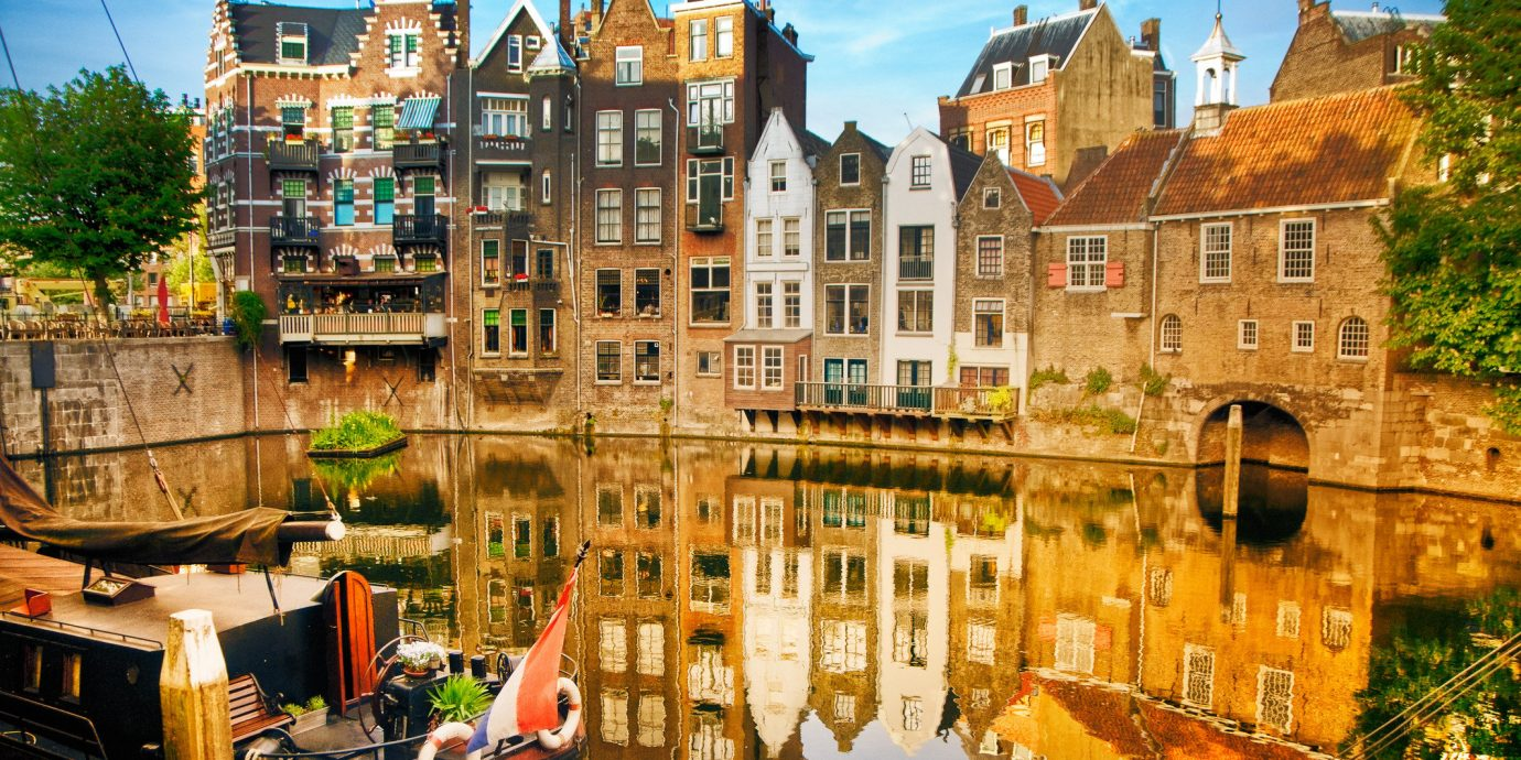 Trip Ideas outdoor Canal Town waterway City cityscape human settlement tourism River reflection autumn