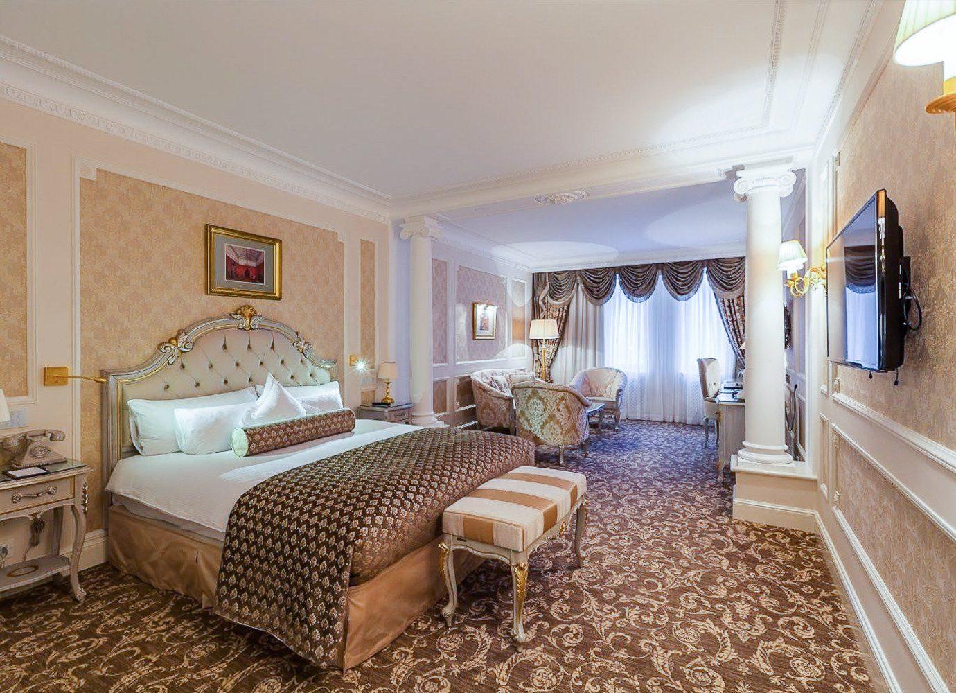 Hotels Luxury Travel indoor floor wall room ceiling Suite Bedroom interior design Living estate real estate home hotel furniture area