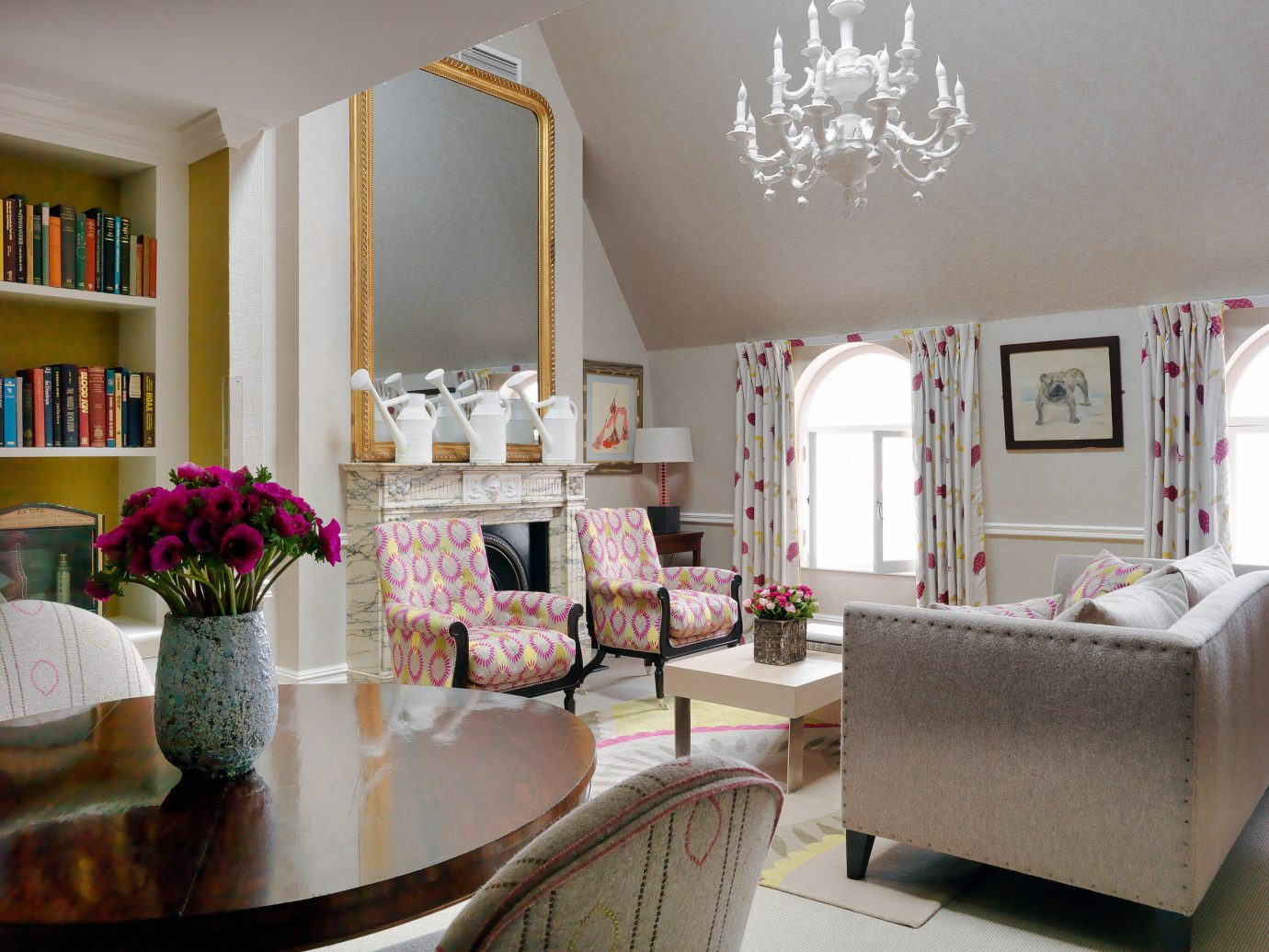 Boutique Hotels London Romantic Hotels indoor wall living room room Living interior design home ceiling furniture window real estate interior designer estate house dining room table decor decorated
