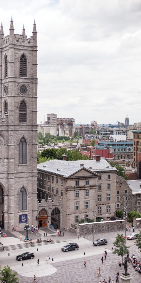 Historic buildings in Montreal, Canada