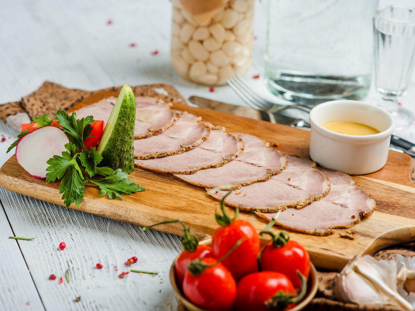 Arts + Culture Hotels Jetsetter Guides food plate dish meat fruit full breakfast turkey ham breakfast cold cut recipe galantine pâté brunch fresh