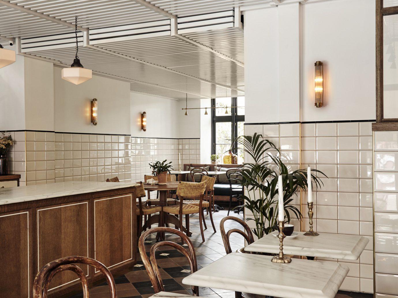 Boutique Hotels Copenhagen Denmark Hotels Trip Ideas indoor interior design Kitchen flooring countertop ceiling tiled