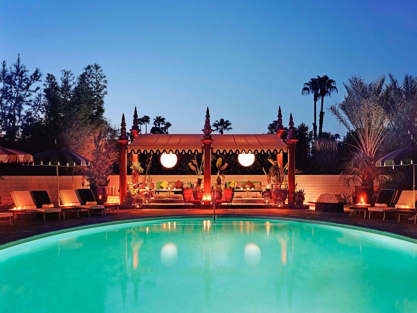 Hotels Pool Romance sky outdoor water swimming pool property building leisure estate Resort mansion Villa hacienda palace blue