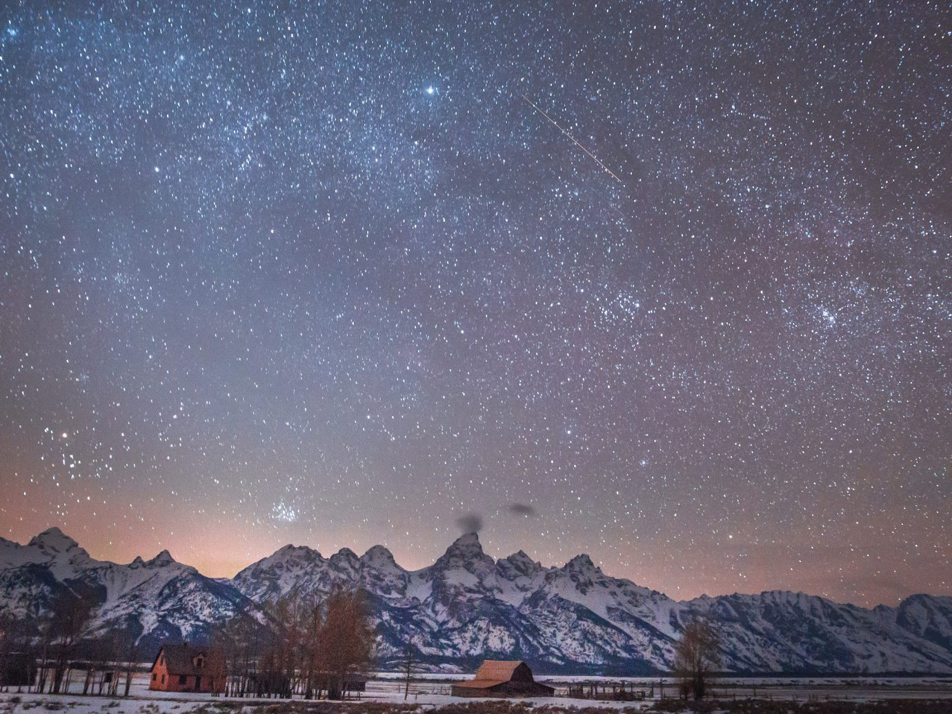Trip Ideas snow outdoor mountain sky Nature atmosphere night Winter outer space freezing phenomenon astronomical object geological phenomenon galaxy dawn star mountain range evening space tree landscape computer wallpaper astronomy horizon Night Sky distance