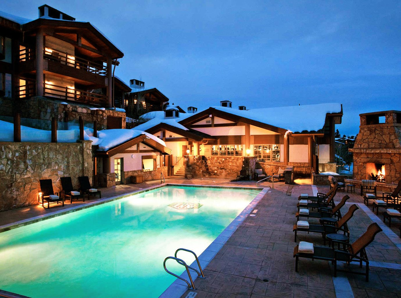 Hotels Luxury Travel Mountains + Skiing building outdoor swimming pool property estate Resort leisure vacation home Villa mansion resort town real estate backyard