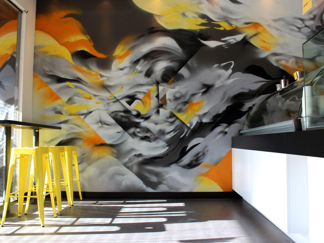 Food + Drink indoor modern art art