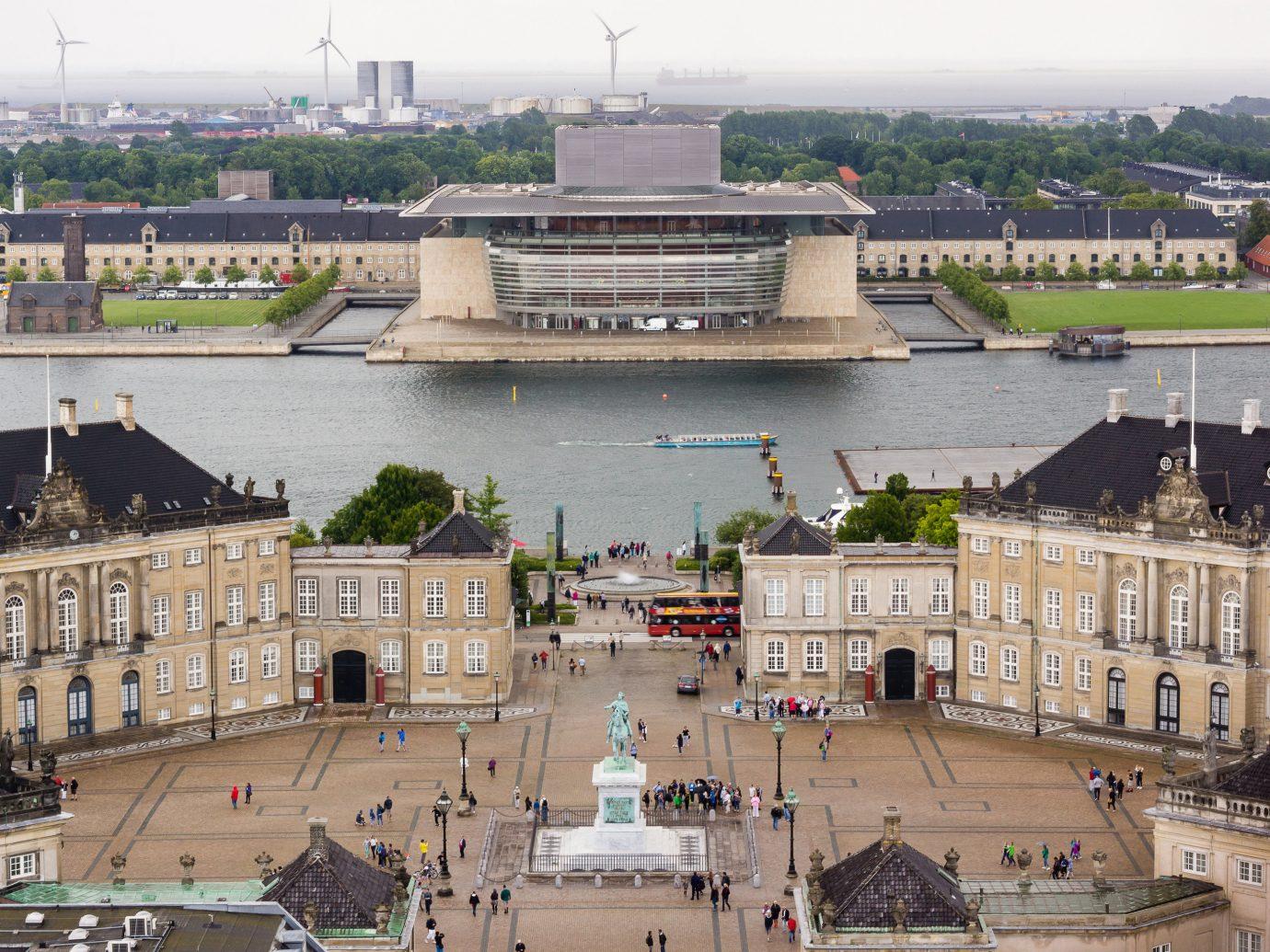 Copenhagen Denmark Trip Ideas City urban area plaza water building sky town square roof skyline