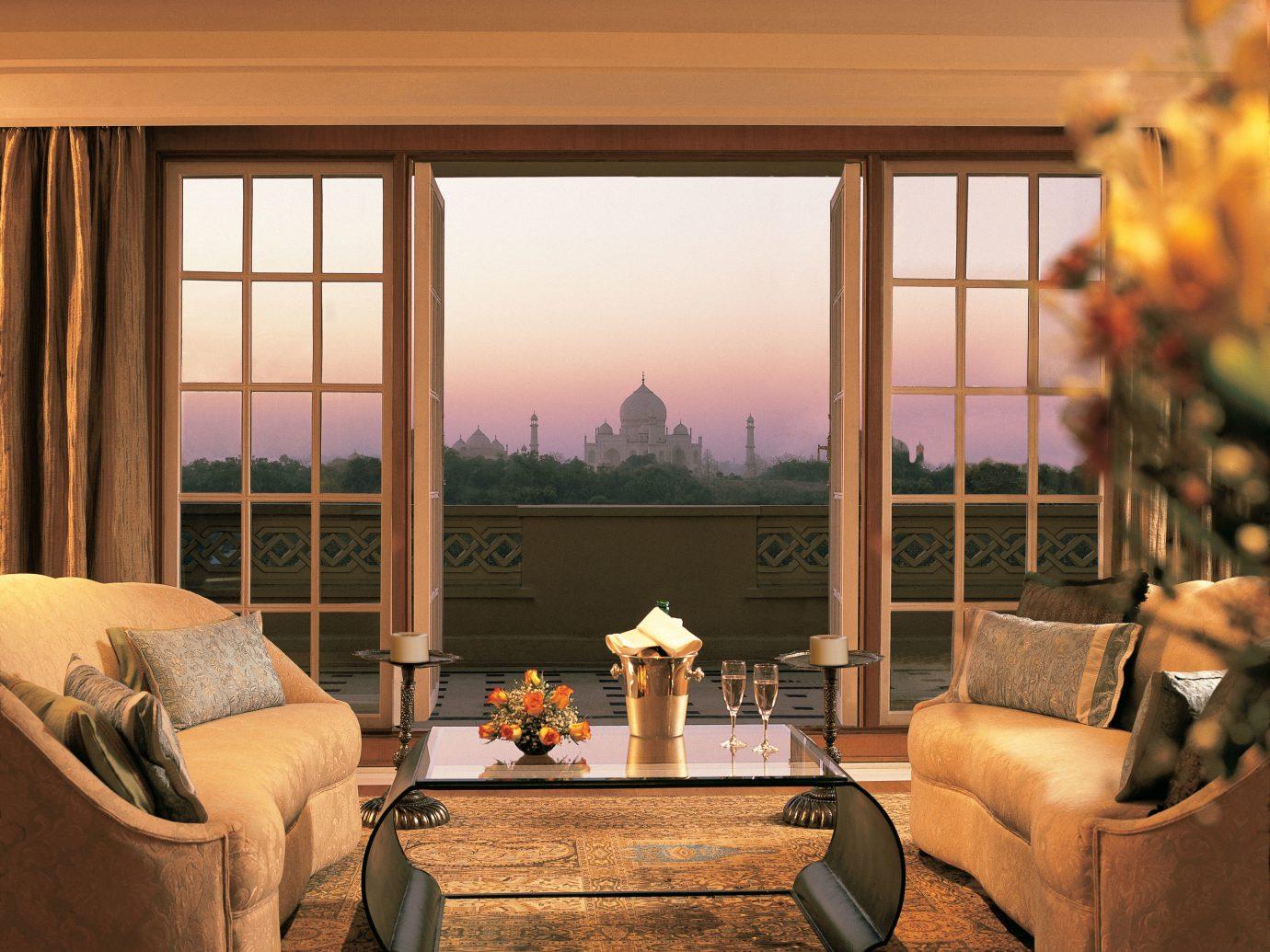 Hotels Luxury Travel indoor sofa room window property living room Living estate home interior design cottage Suite farmhouse furniture