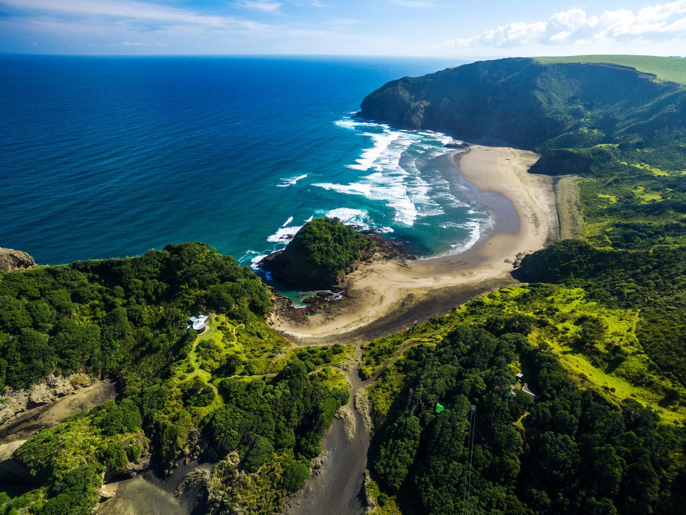 Offbeat water outdoor sky Nature mountain landform geographical feature aerial photography body of water Coast Sea hill fjord Lake landscape loch mountain range reservoir cliff cape crater lake terrain bay overlooking hillside