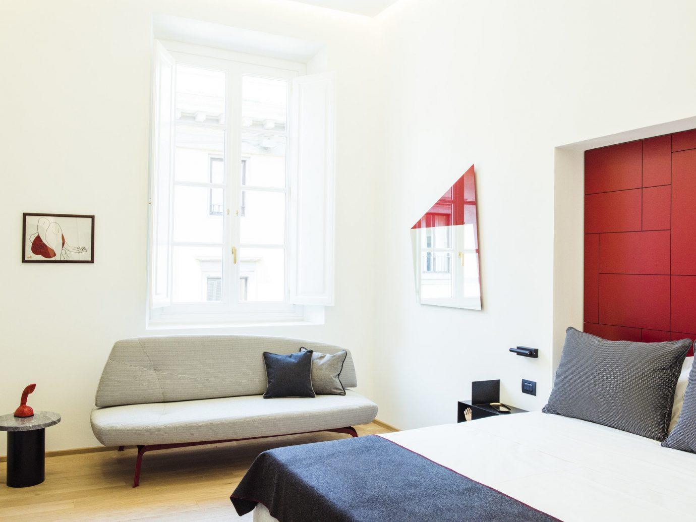 Hotels wall indoor floor room property Bedroom bed interior design home cottage real estate living room Design Suite apartment furniture