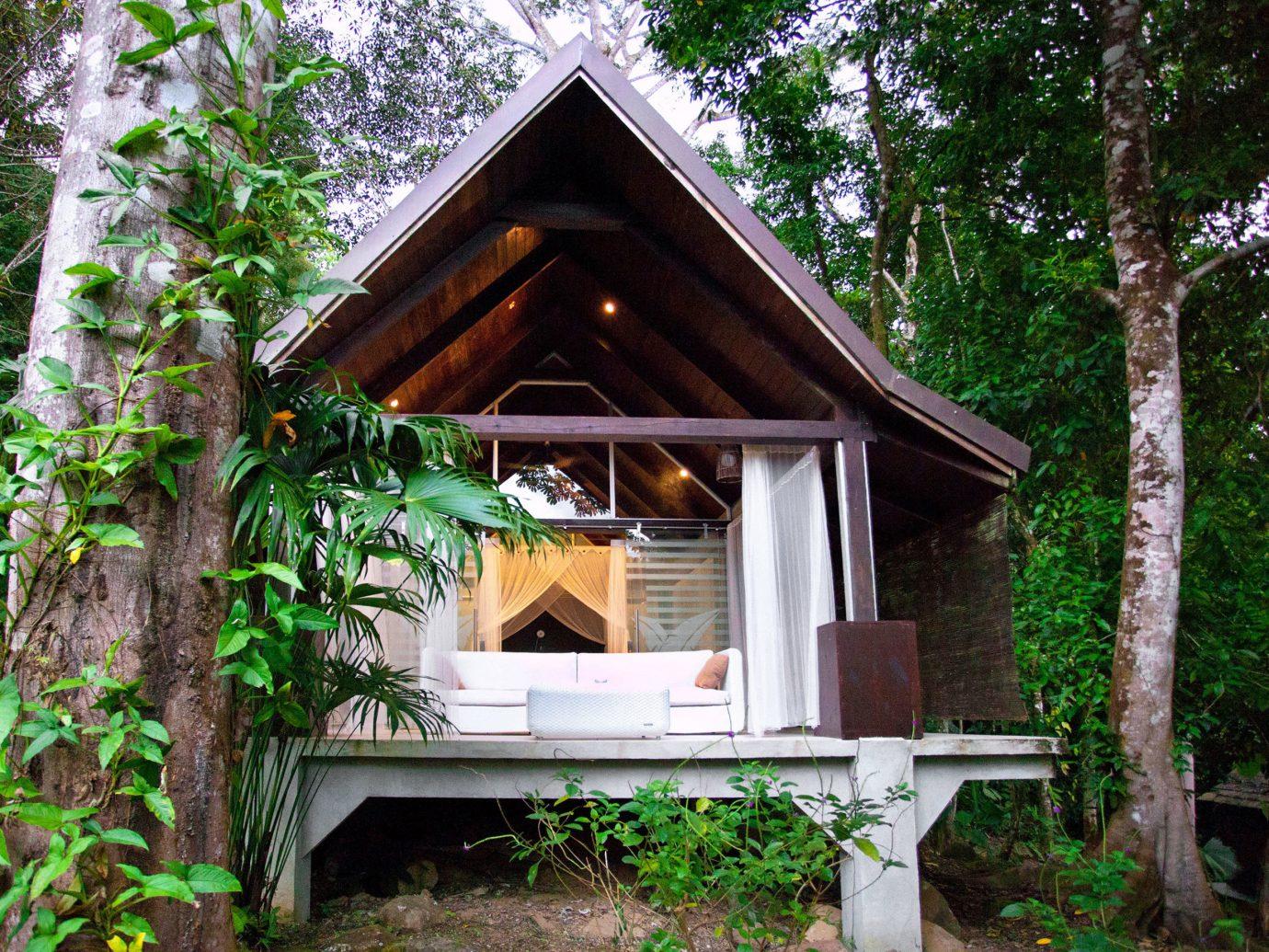 Exterior of a villa at Oxygen Jungle Villas