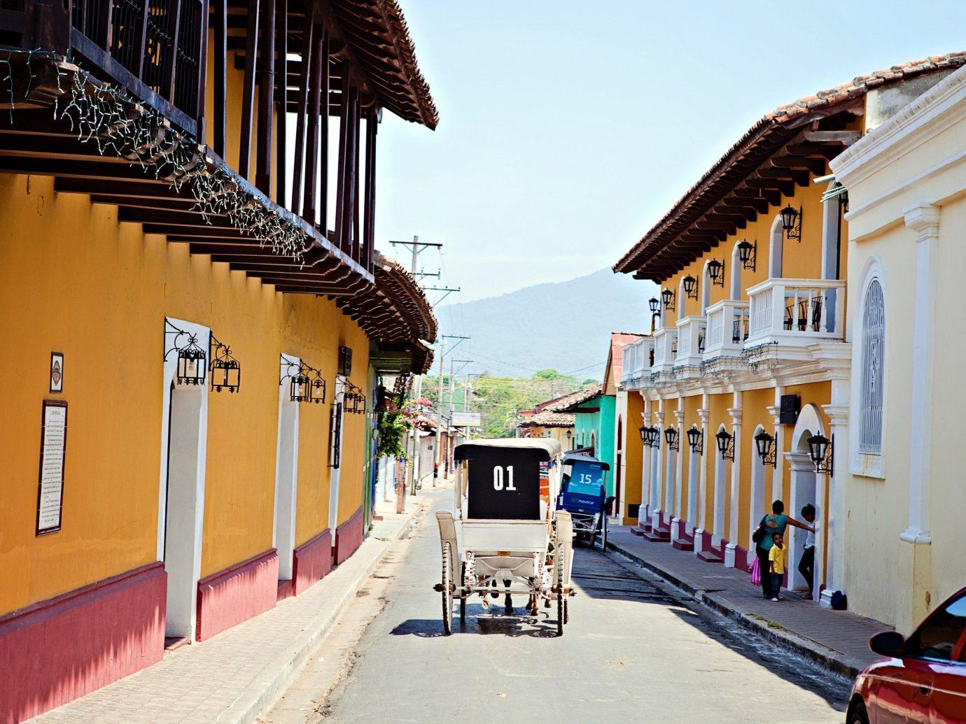 Jetsetter Guides building sky outdoor transport Town neighbourhood vacation street Architecture tourism travel boardwalk