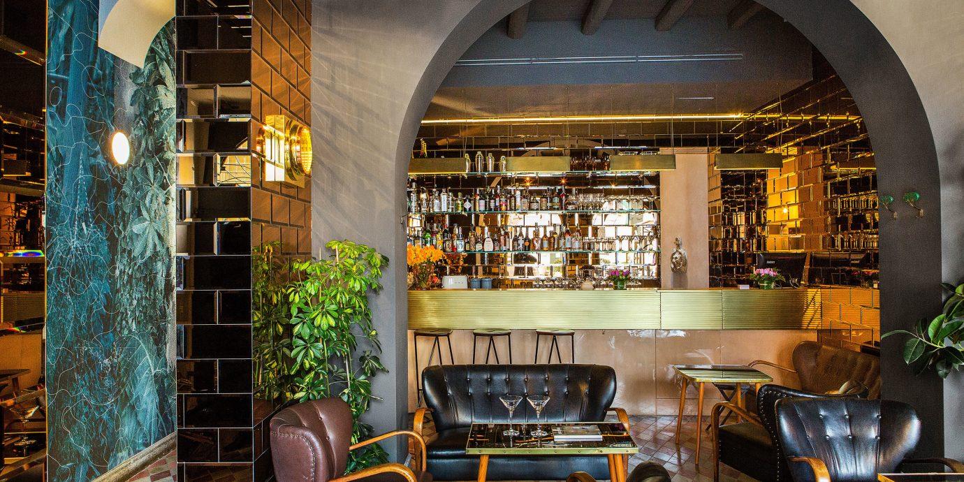 Hotels indoor Architecture estate interior design Bar home restaurant Design window